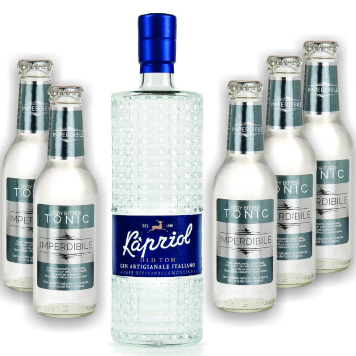 Kapriol Old Tom Gin + Dry Tonic