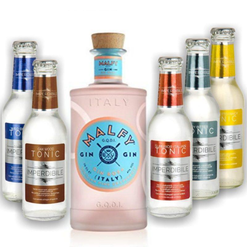 Billede til køb af Malfy ginpakke med Rosa
