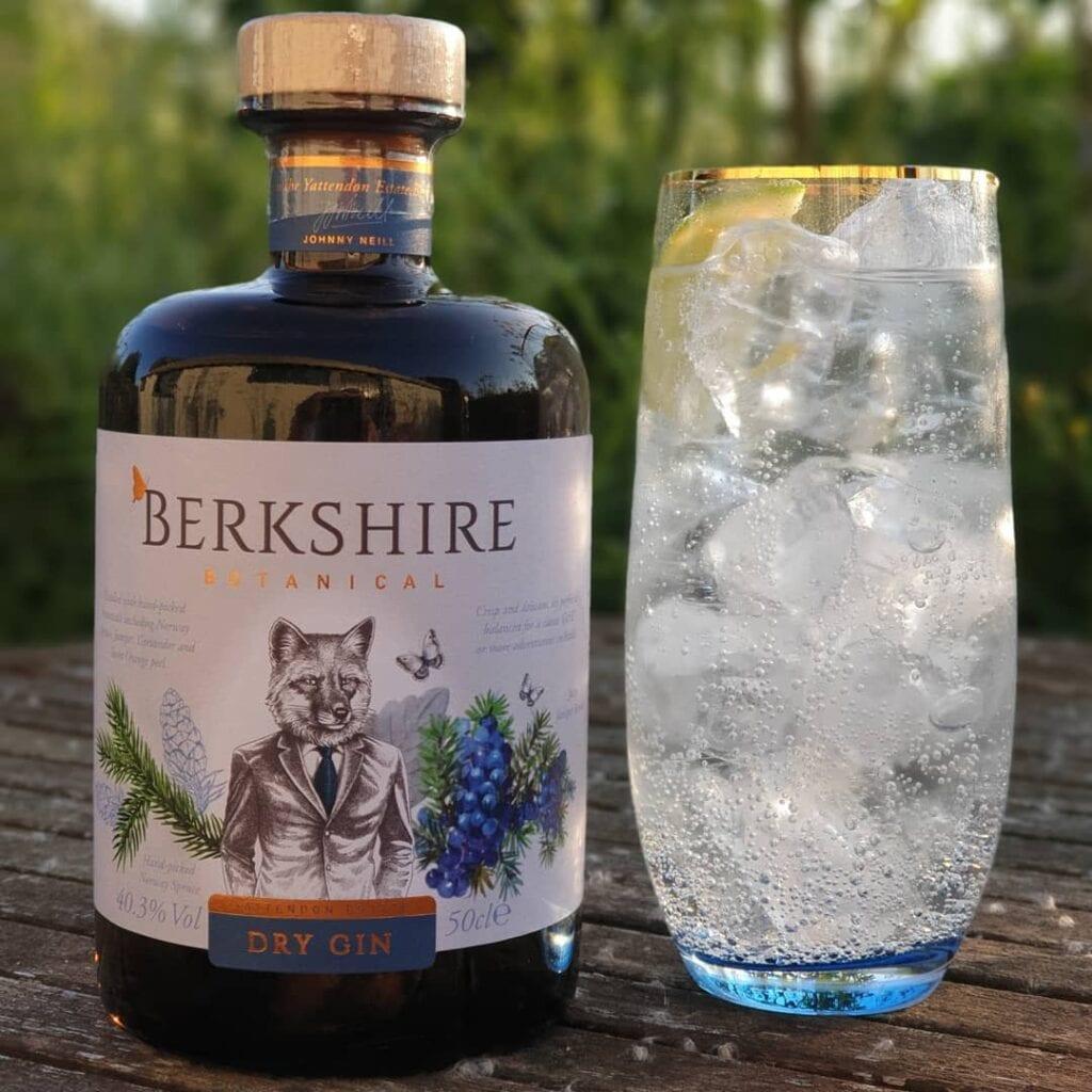 Servieringsforslag Berkshire Gin
