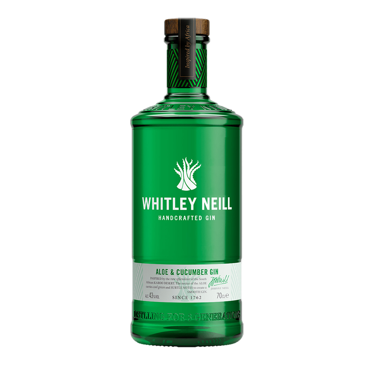 Whitley Neill   Aloe & Cucumber Gin (5 cl)