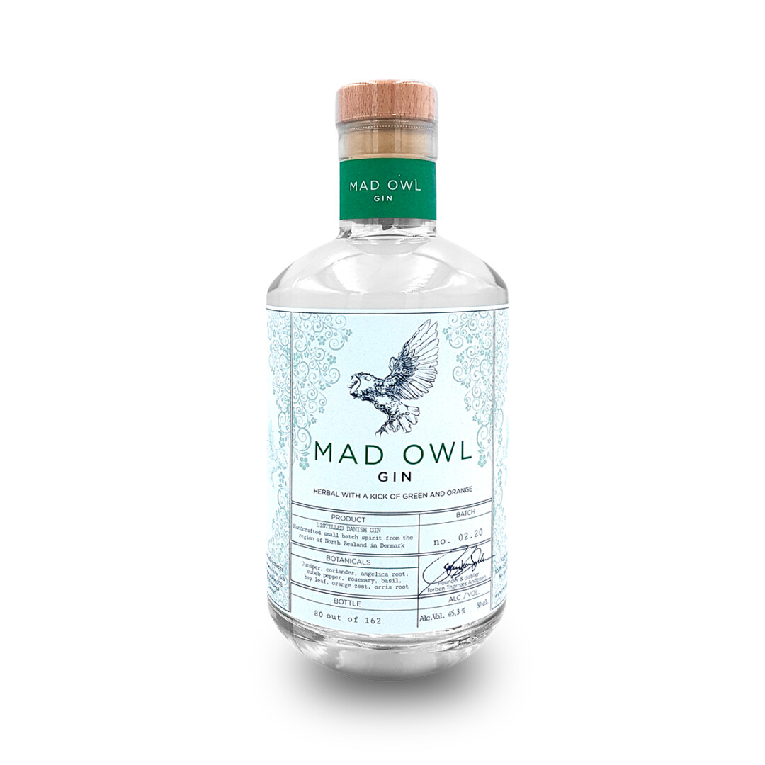 Mad Owl Gin Herbal