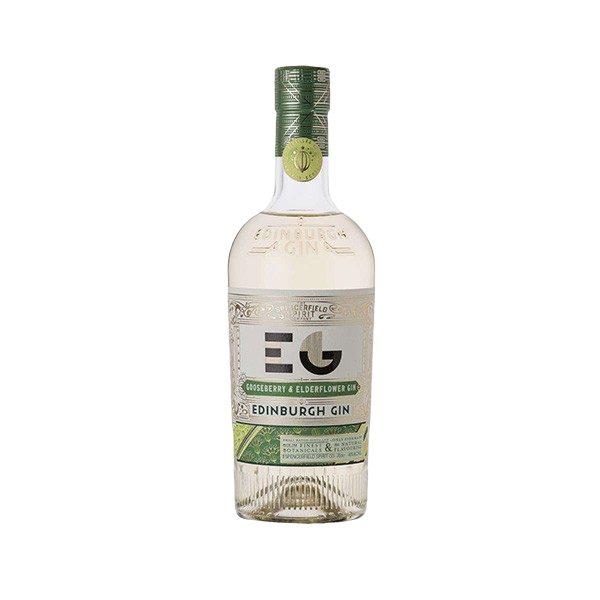 Billede af en flaske Edinburgh Gooseberry Gin
