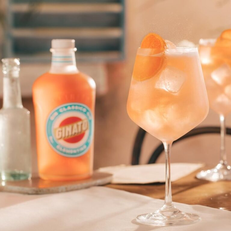Ginato gin cocktail