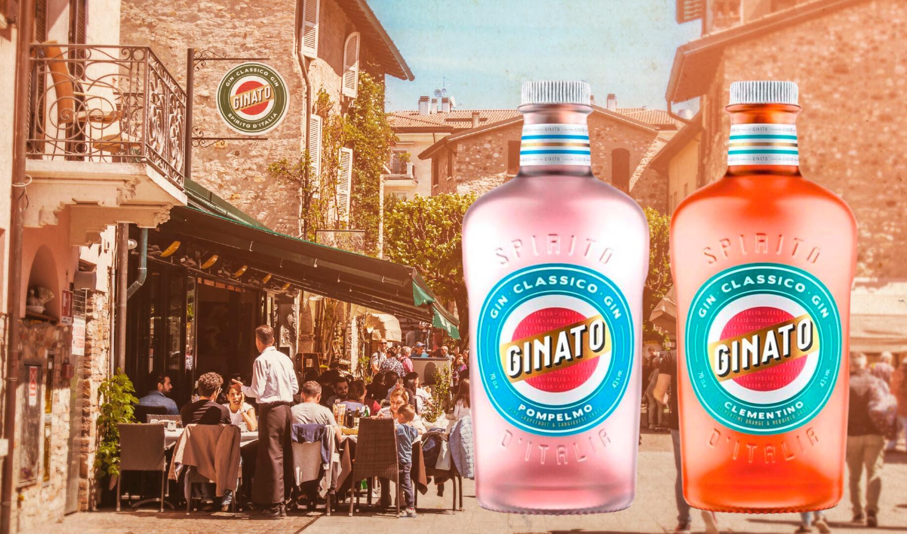 Forsidebillede af ginato flasker