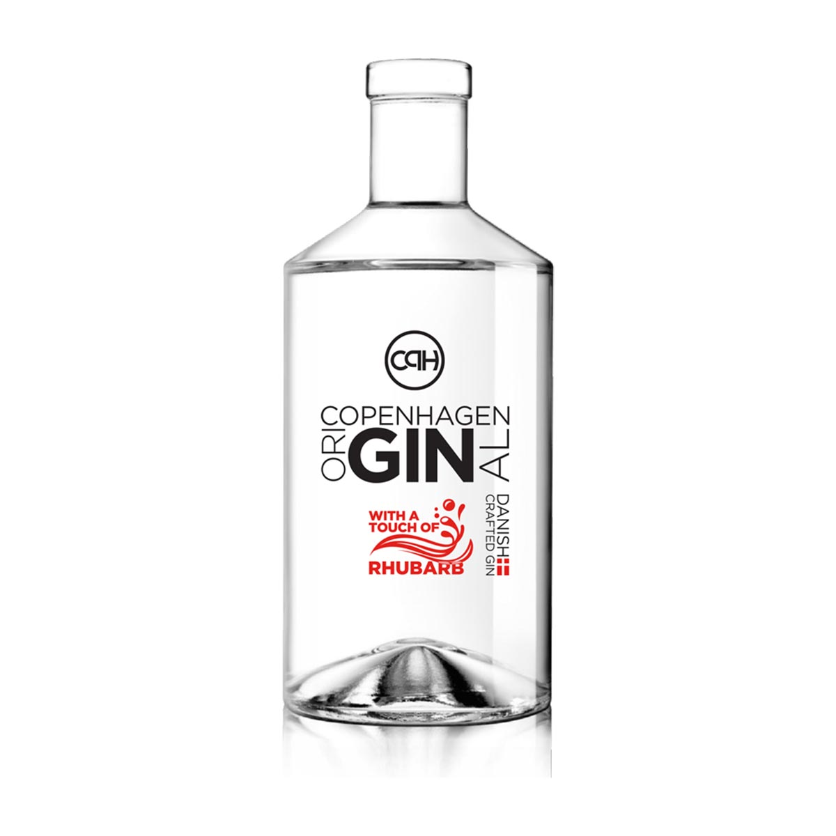 CPH oriGinal gin Rhubarb