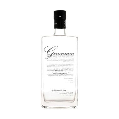 Geranium Gin Salgsbilled