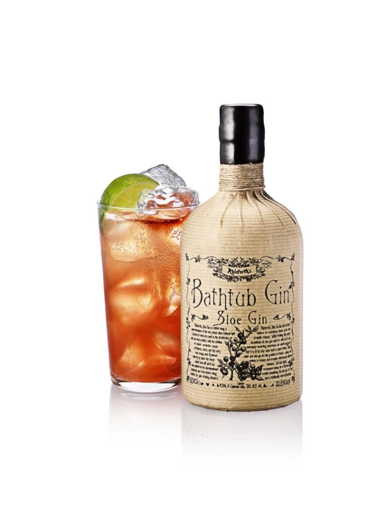 Ableforth Bathtub SLoe Gin Stemning