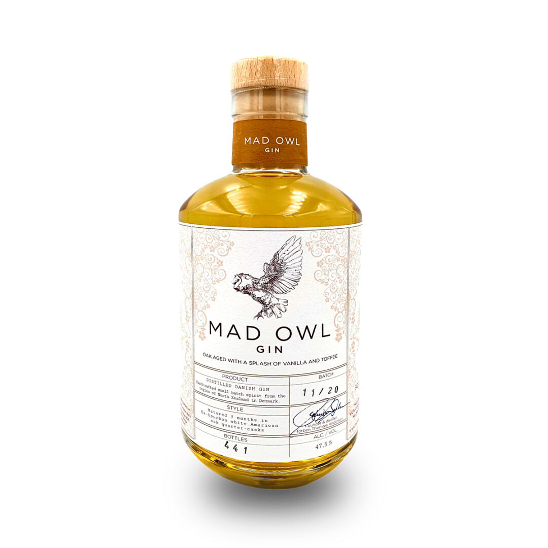 Mad Owl Oak Aged Gin
