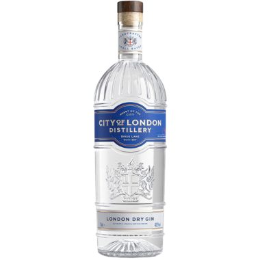Billede af en flaske City of London Gin