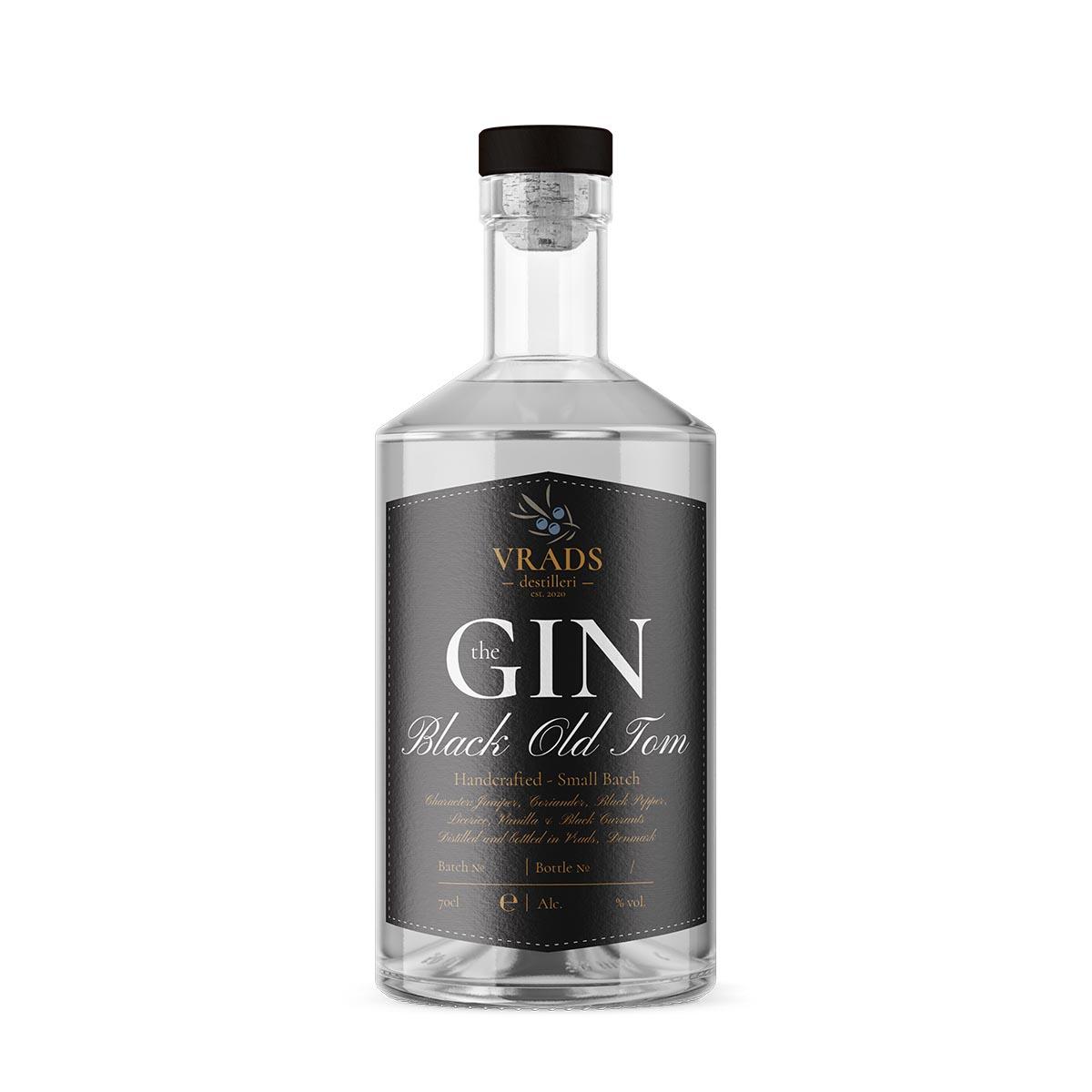 Vrads Destilleri Black Old Tom Gin
