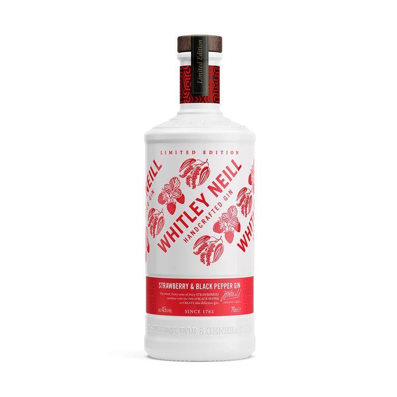 Whitley Neill Strawberry Black Pepper Gin