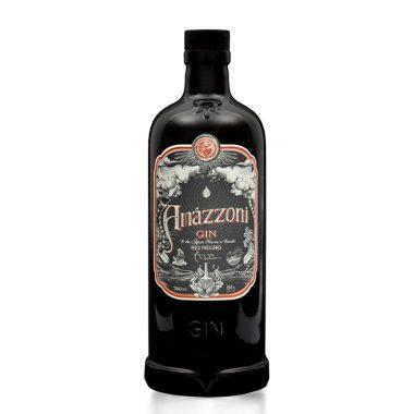 Billede af en flaske med Amazzoni Gin Rio Negro