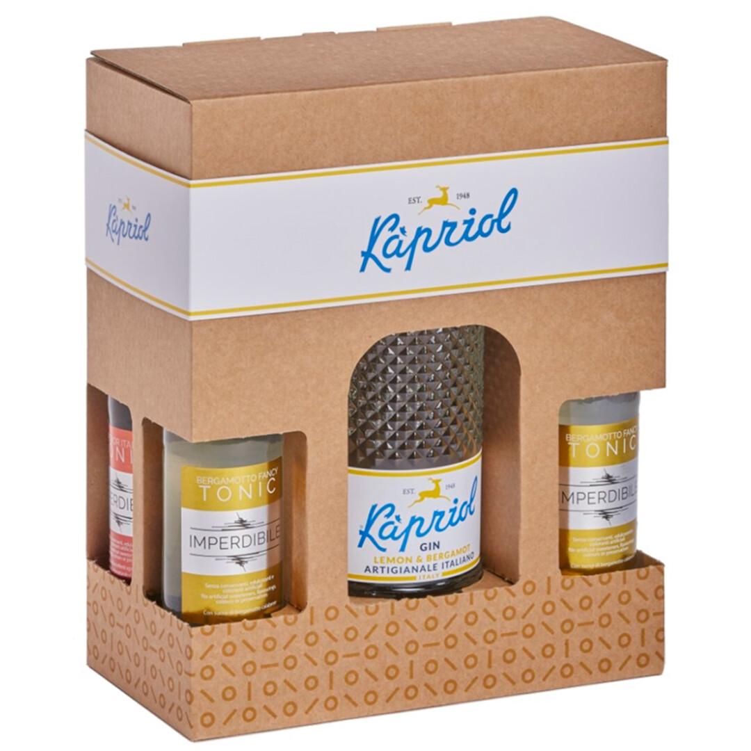 Kapriol gaveæske med Lemon og Bergamot