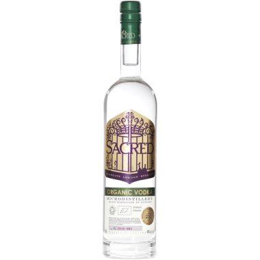 Billede af en flaske Sacred Organic Vodka