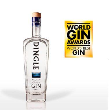 Billede af en flaske Dingle Gin