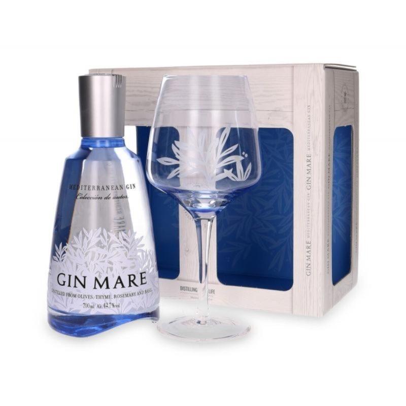 Gin Mare Gaveæske med glas
